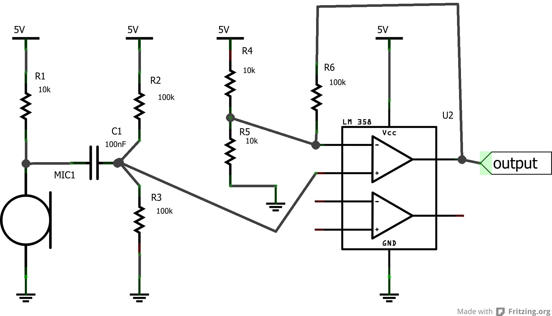 Mic Preamp Schematic