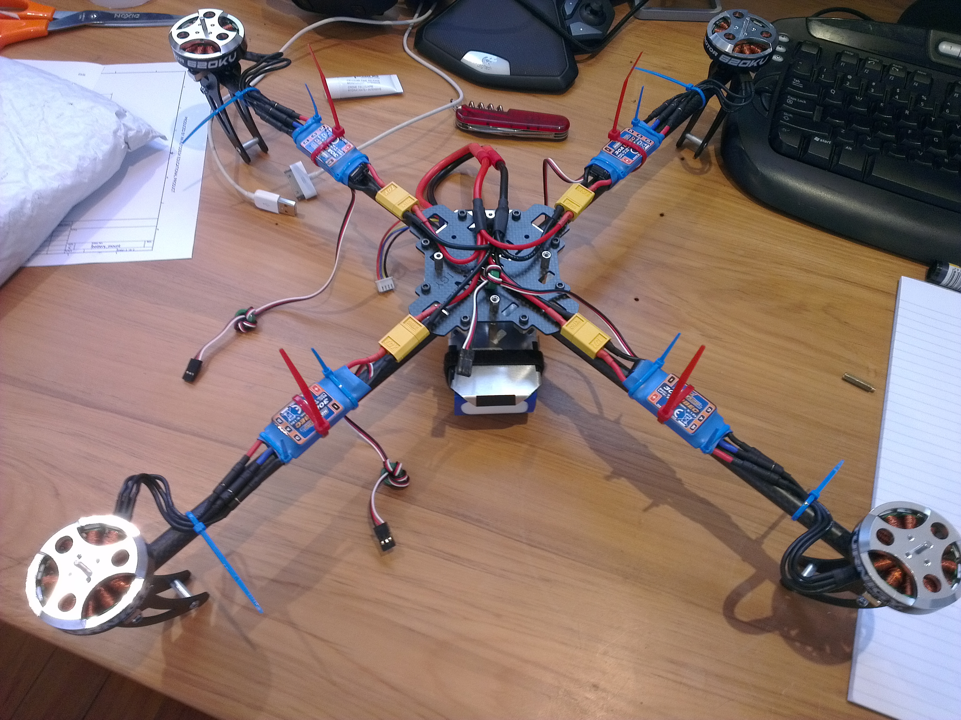 quadcopter schematic diagram electrical three way switch wiring anatomy of a diagrams rotor