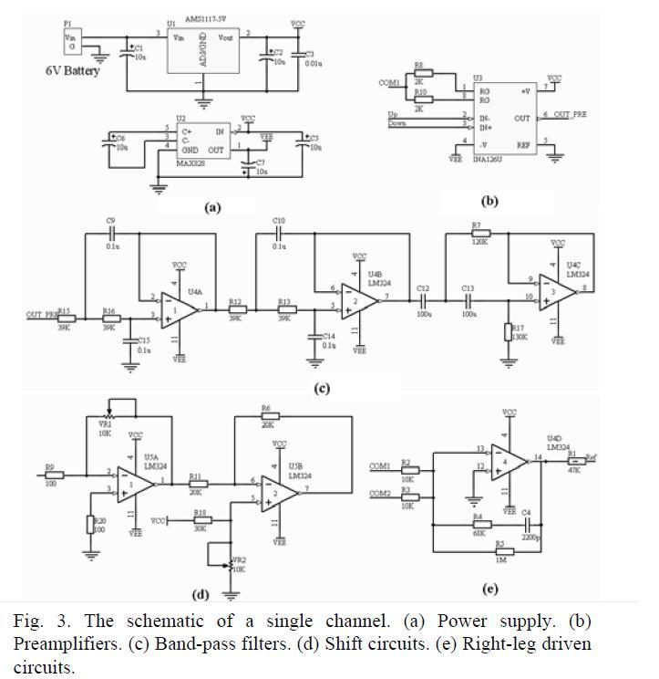 Progress Week 7  Schematic Of Single Channel Amplifier