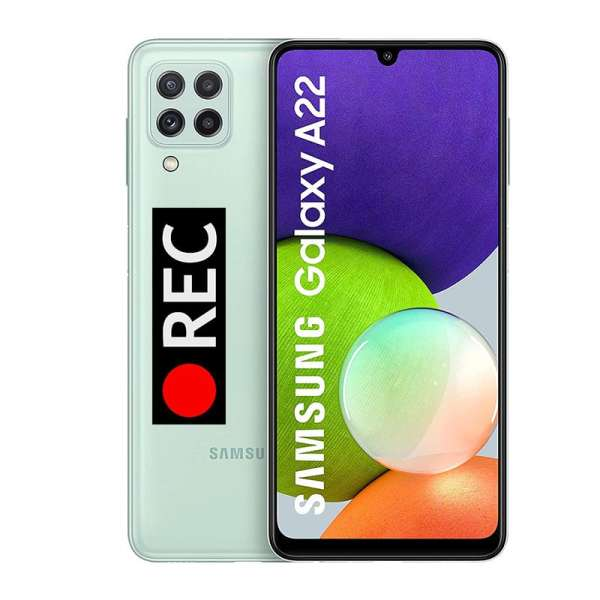 Auto call recorder on Samsung Galaxy A22