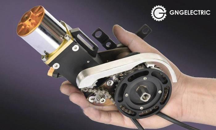 электромотор для электровелосипеда GNG 2017 PREMIUM 24V 250-300W кареточный мотор
