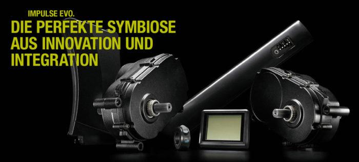 Система для электровелосипедов Impulse Evo кареточный мотор