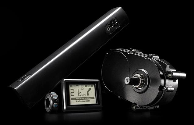 Система для электровелосипедов Impulse Evo RS кареточный мотор