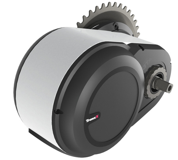 мотор для электровелосипеда TranzX M16 кареточный