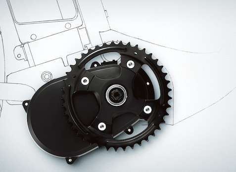 Center Motor X0 кареточный электромотор для электровелосипеда