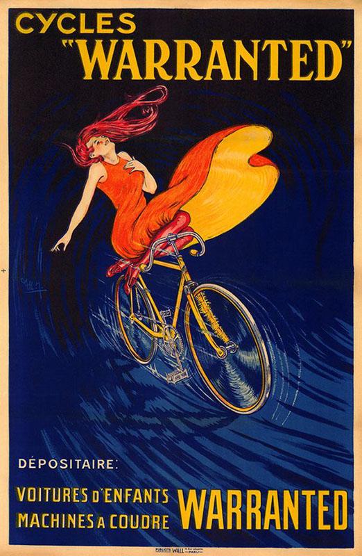 постер велоспорт
