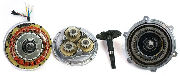 Geared Hub Motors