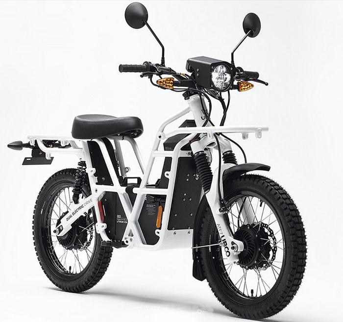 Полноприводный электромопед UBCO 2 х 2