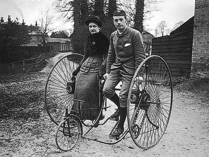 Необычные велосипеды из прошлого (выпуск №1)