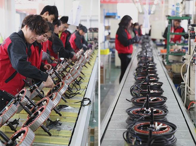 Производство мощных мотор-колес QS Motor