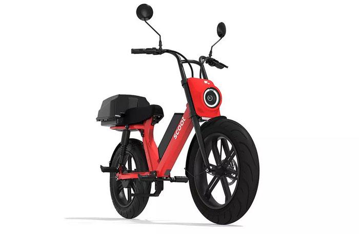 Scoot Moped электроскутер