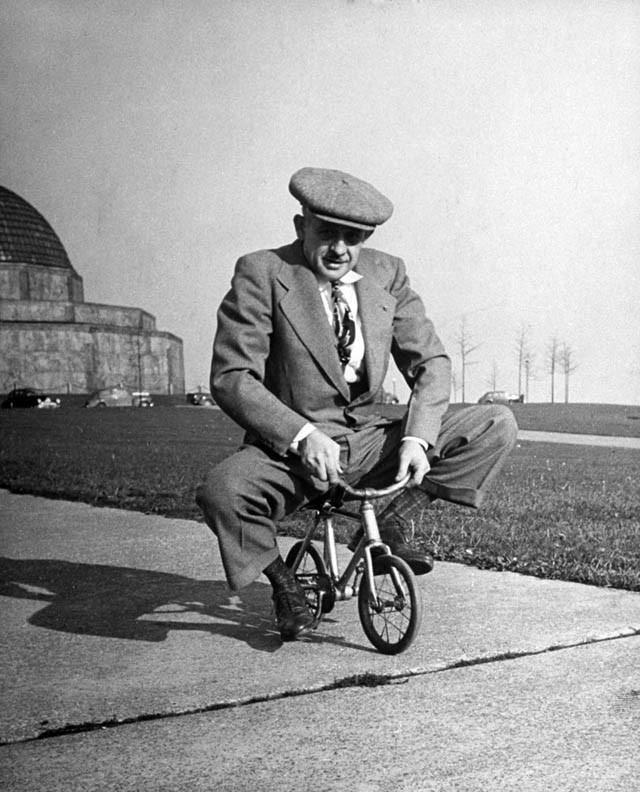 старинный детский велосипед