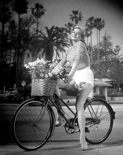 Керстин Анита Марианне Экберг (швед. Kerstin Anita Marianne Ekberg) — шведская актриса и фотомодель. Наиболее известна ролью Сильвии в фильме Федерико Феллини «Сладкая жизнь» 1960 года и считается одним из секс-символов итальянского кино 60-х годов. Фотография 1956 года.