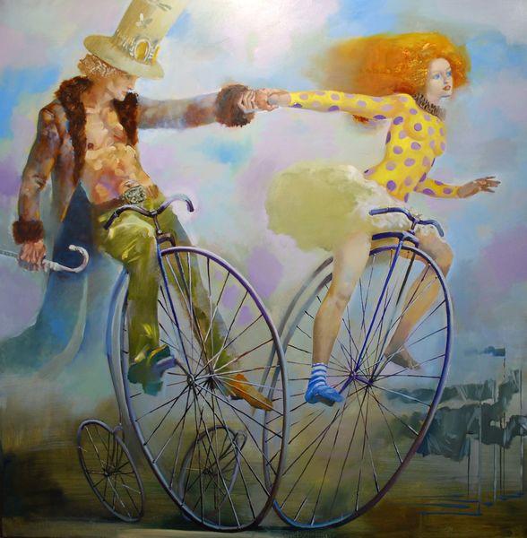 велосипеды романтика
