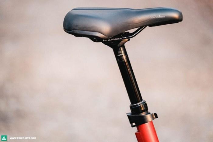 велоседло для велосипеда с заниженной рамой
