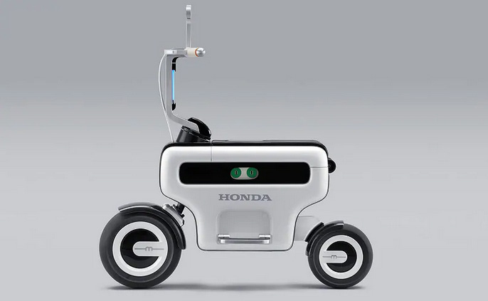 Honda Motocompacto Electric Folding Scooter электроскутер