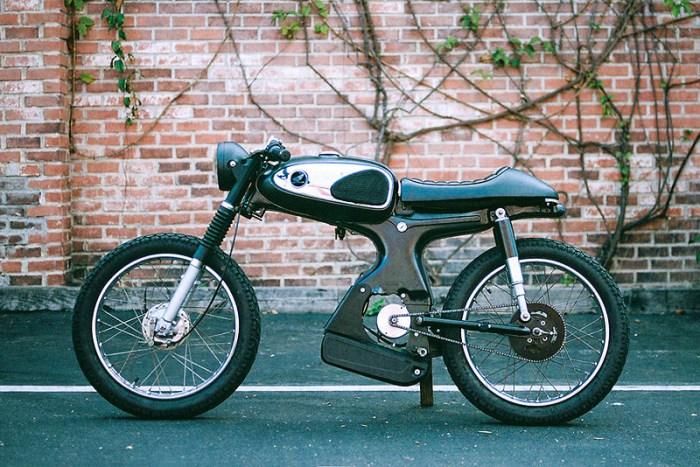 moped honda s90 электромопед