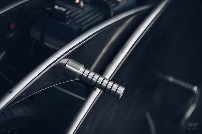 Racer-X электромотоцикл подножка
