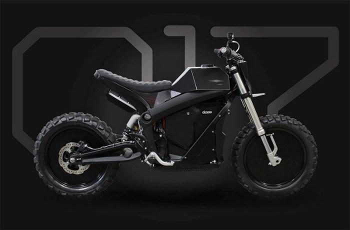 Электромотоцикл Droog DM-017