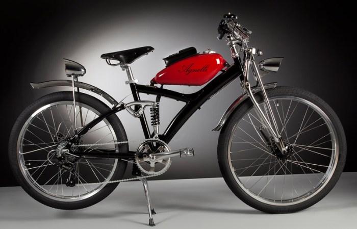 Электровелосипеды Agnelli Milano Bici