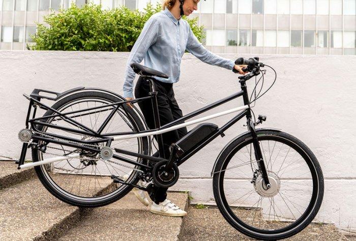 Convercycle E-Bike - каргобайк трансформер