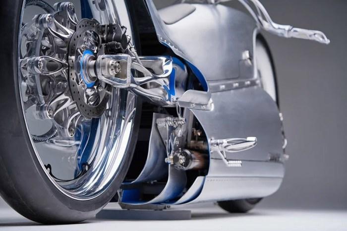 Электрический мотоцикл 2029 года