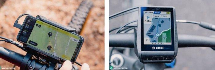 GPS-навигатор для электрического велосипеда