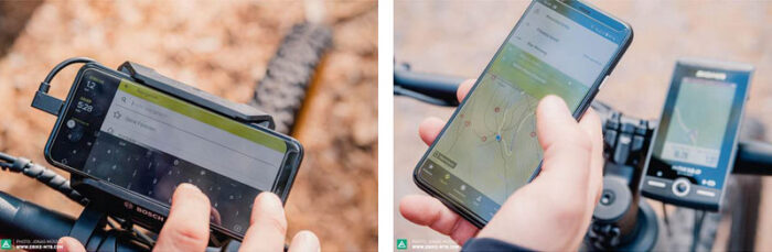 GPS-навигатор для электровелосипедов