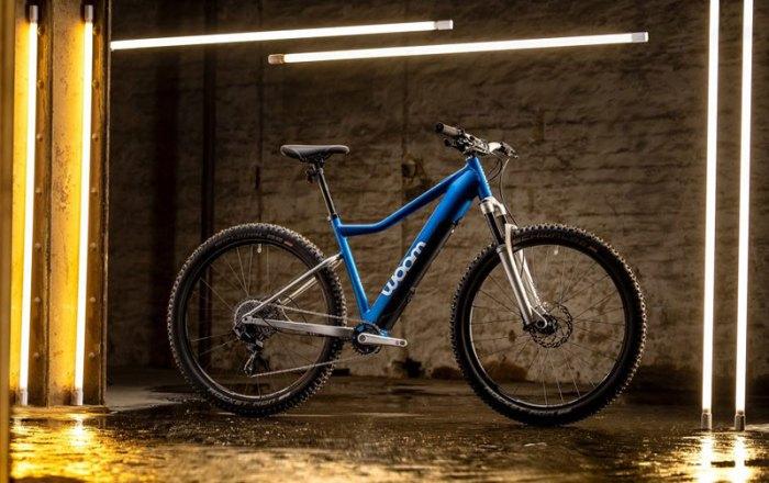 Электровелосипед Woom UP 6