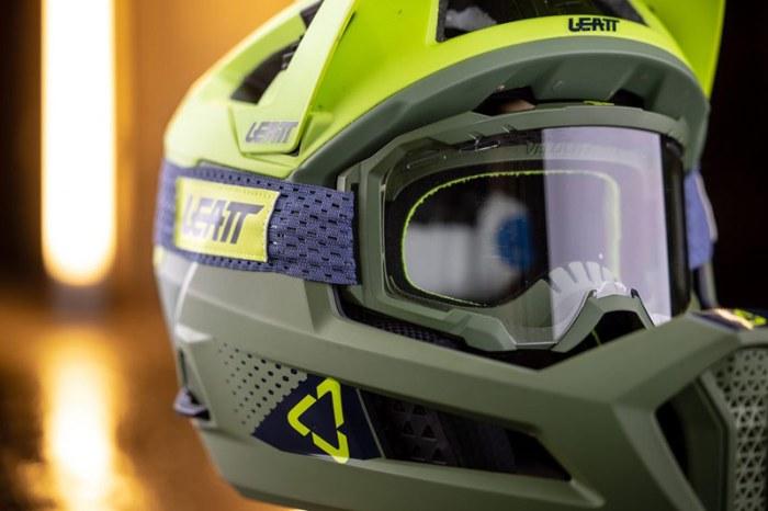Велошлем фулфейс Leatt Velocity 4.0 MTB-Goggle - The Design & Innovation Award 2021