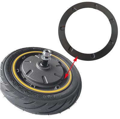 Кольцевая накладка на крышку мотор-колеса электросамоката Ninebot MAX G30 30D