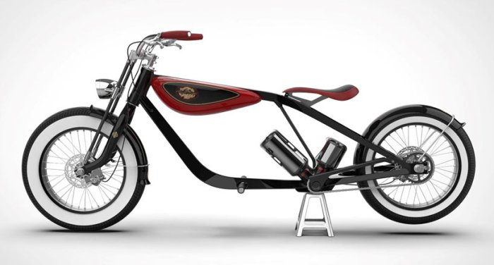 Электромотоцикл Carota (концепт)
