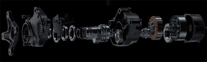 Кареточный веломотор EonDrive от Forestal