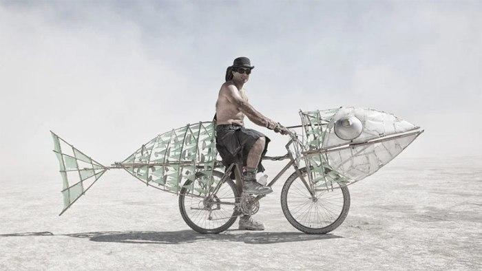 Велосипеды и самокаты на Burning Man. Выпуск №1