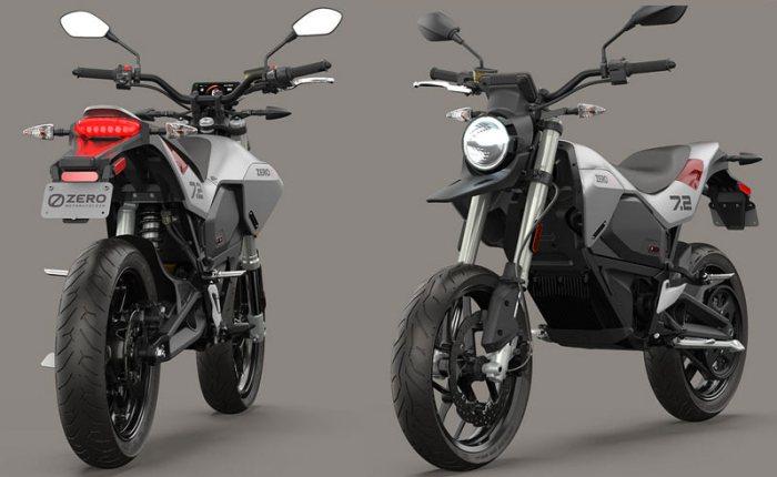 Zero FXE - простой электрический мотоцикл