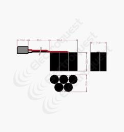 6v 1600mah hump hpi savage receiver battery pack [ 1000 x 1000 Pixel ]
