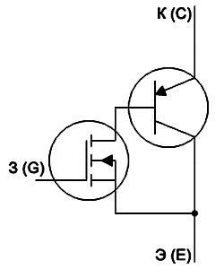 Skhema tranzistora