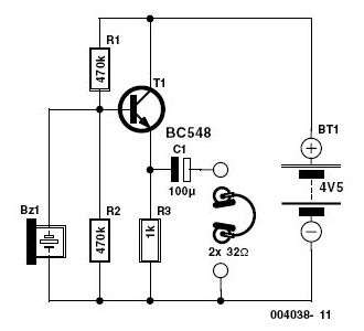 Electronic Stethoscope Circuit