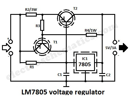 Lm7805 Wiring Schematic : 23 Wiring Diagram Images