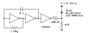 LED Circuits and projects blog: LED flasher circuit diagrams