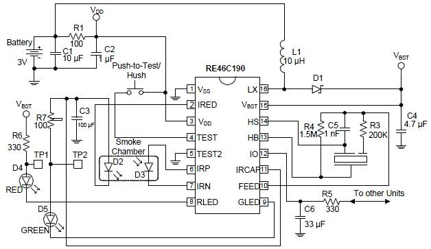 Burglar Alarm: Burglar Alarm Electronic Components Diagrams