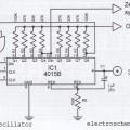 1 Hz Generator and 2 Hertz Oscillator Circuit