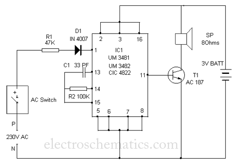 simple doorbell circuit diagram 2005 honda odyssey wiring polyphonic