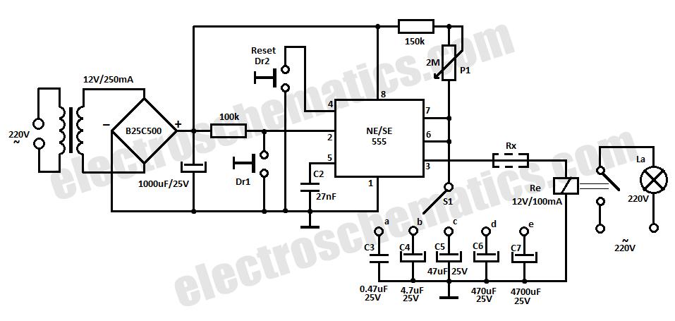 12v time delay relay wiring diagram