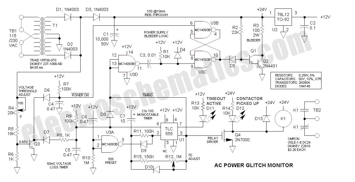 AC Power Monitor Circuit