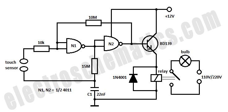 light switch schematic wiring diagram