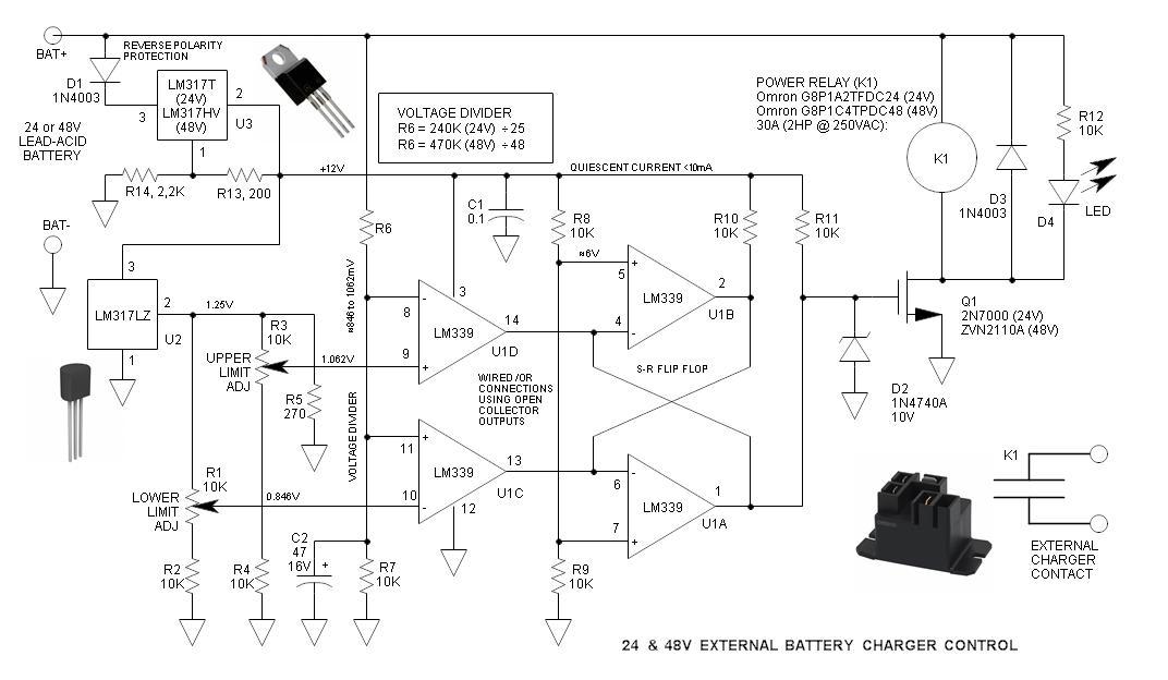 24 Volt Battery System Diagram. Parts. Wiring Diagram Images