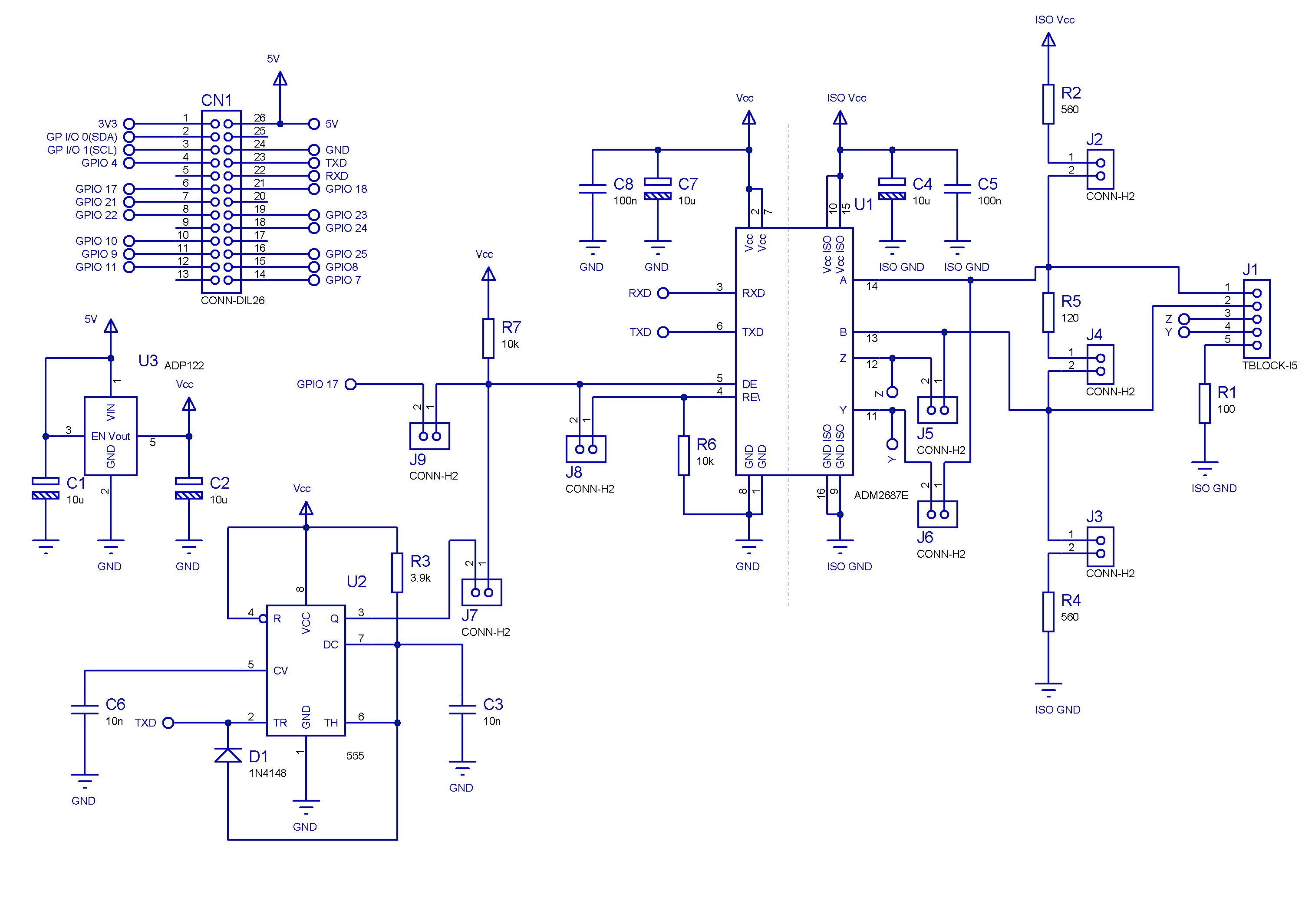 rs232 to rs485 converter circuit diagram dual battery isolator switch wiring rs 422 485 schematic cable