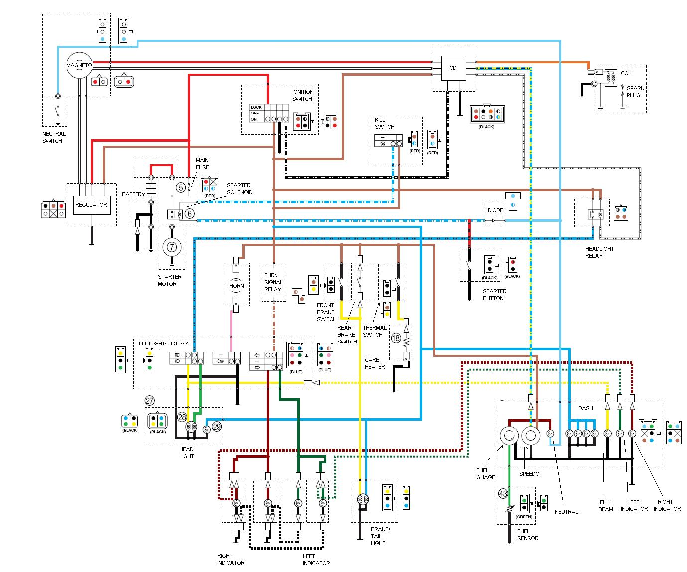 melex gas golf cart wiring diagram trailer connector nz hyundai santa fe parts