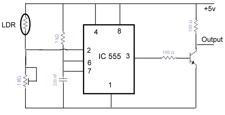 dld mini projects circuit diagram heat pump wiring air handler project tutorial the sensor is shown bellow in this same circuits connected to three floors different if you compared with that of